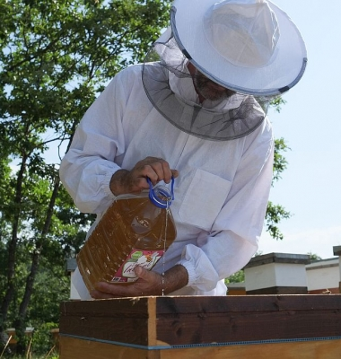 Храна за пчели-инвертиран захарен сироп